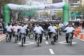 """""""자전거로 서울을 달리다~"""" 매월 즐기는 서울 라이딩"""